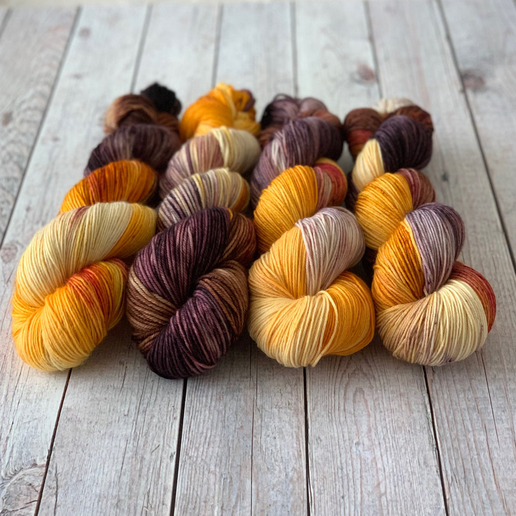 Falling Leaves (Seasonal) ~ Dyed to Order/Custom Order