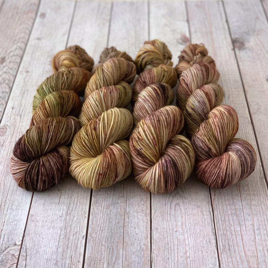 Hints of Autumn (Seasonal) ~ Dyed to Order/Custom Order