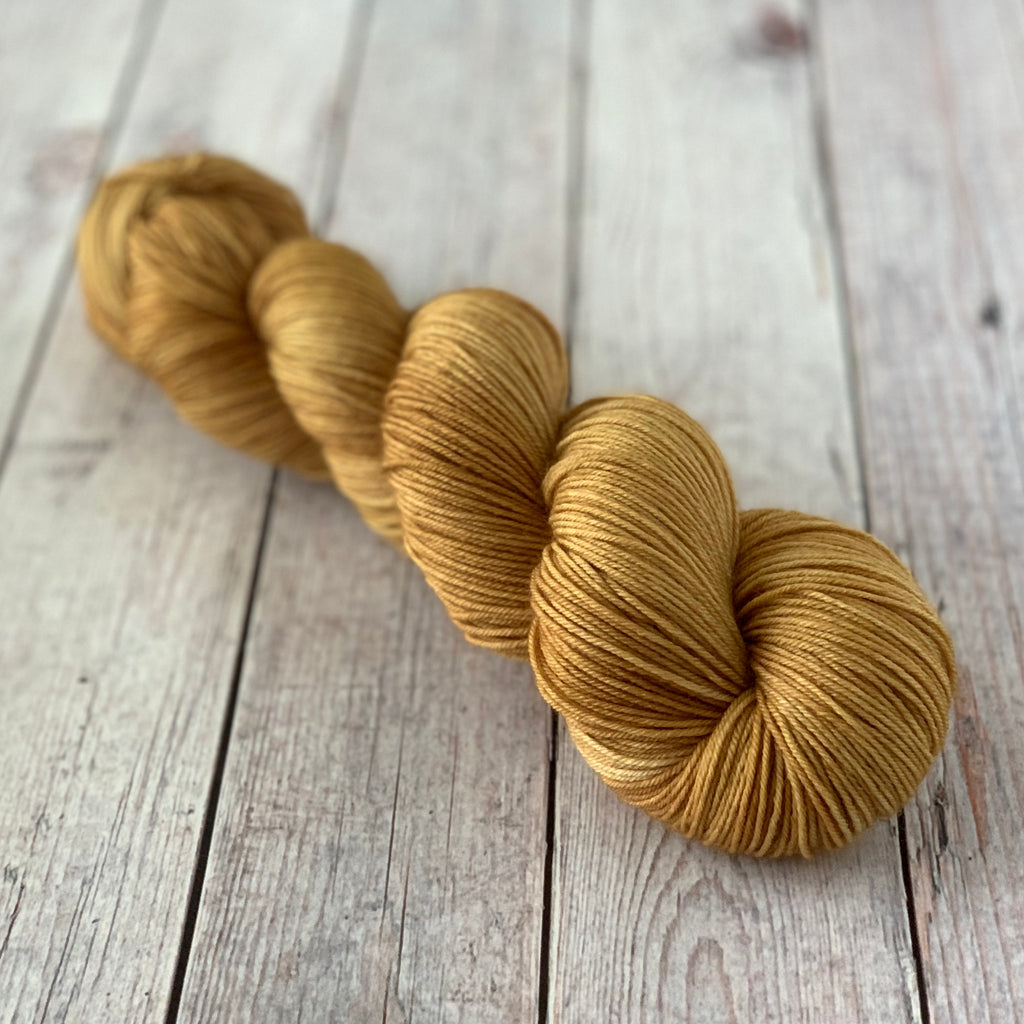 Golden Toffee ~ Dyed to Order/Custom Order