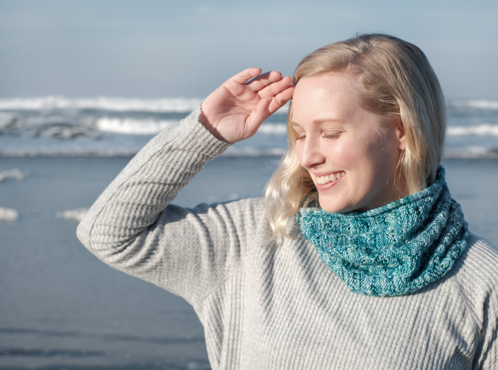 Marina Cowl Kit (includes yarn and pattern)