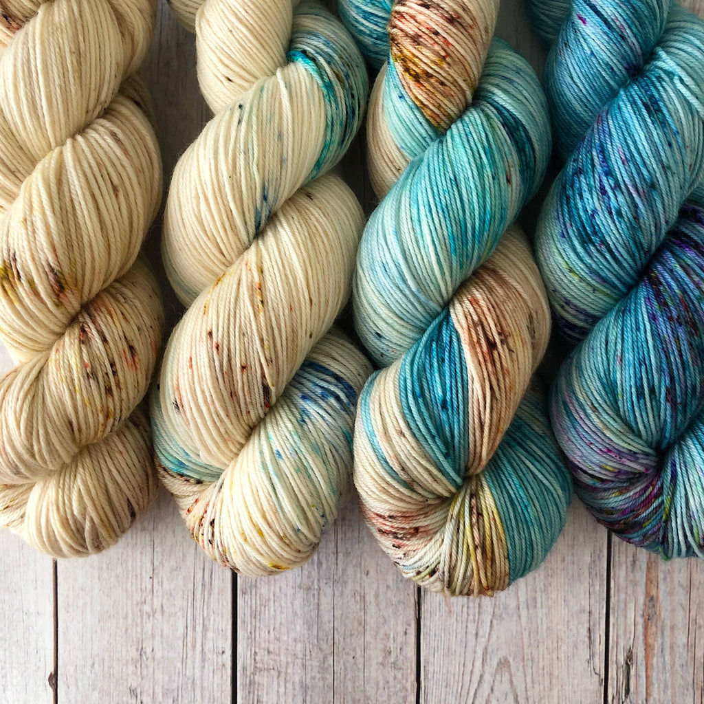 Seascape Fade Set (4 skeins) ~ Preorder