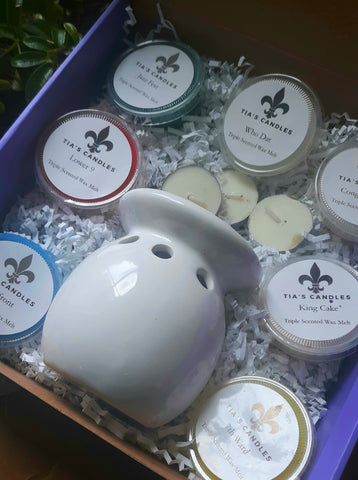 Homesick Wax Warmer and Melts Gift Box