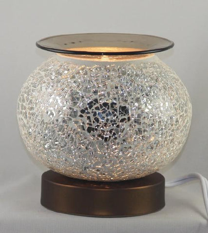 Crackled Glass Oil/Wax Warmer