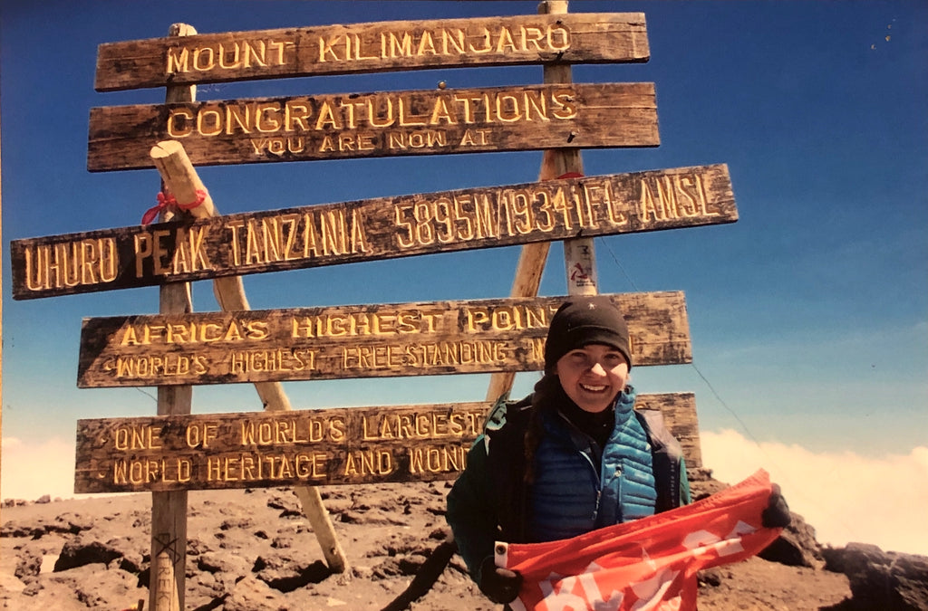 Expedition Flag Returns Home After Climbing Mt. Kilimanjaro