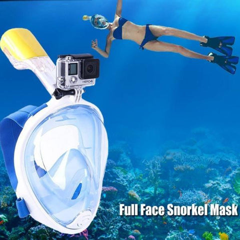 Scuba Snorkel Mask for GoPro Camera