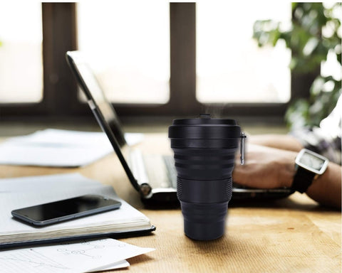 Collapsible Travel Mug, Mug - CrateSpot
