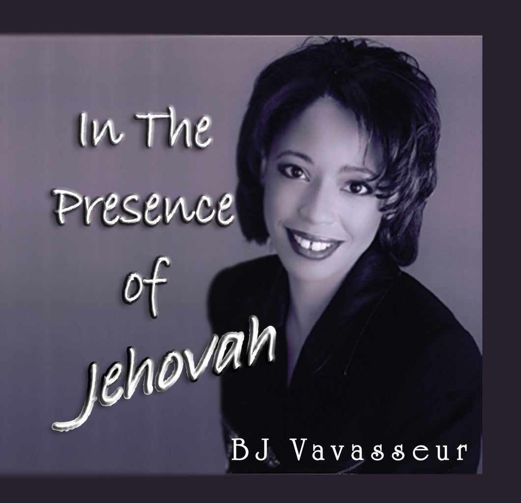 In The Presence of Jehovah Cd
