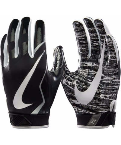Nike Youth Vapor Jet 4.0 Receiver Gloves in Black