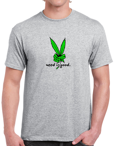 Peace Weed Leaf - Weed T Shirts, Marijuana Clothing and Stoner Apparel