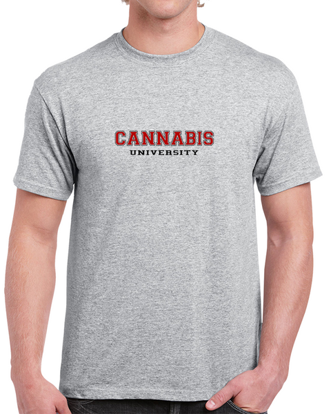 Cannabis University - Weed Tee Shirt, Marijuana T Shirts and Cannabis Apparel