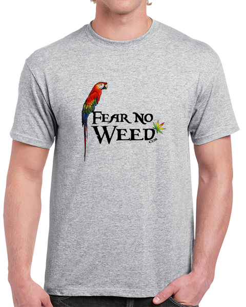 Fear No Weed Parrot and Weed Leaf T-Shirts, Hoodies and clothing