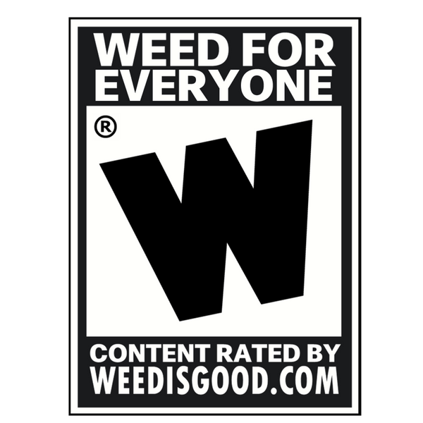 Weed For Everyone Sticker
