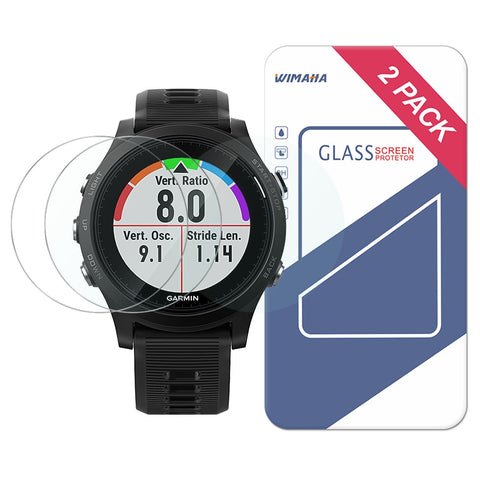 Wimaha Tempered Glass Screen Protector for Garmin Forerunner 935
