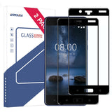 Wimaha Tempered Glass Screen Protector for Nokia 8 Full Screen Coverage