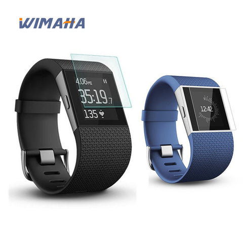 Wimaha US Version 2 Pack Fitbit Surge Screen Protector Tempered Glass