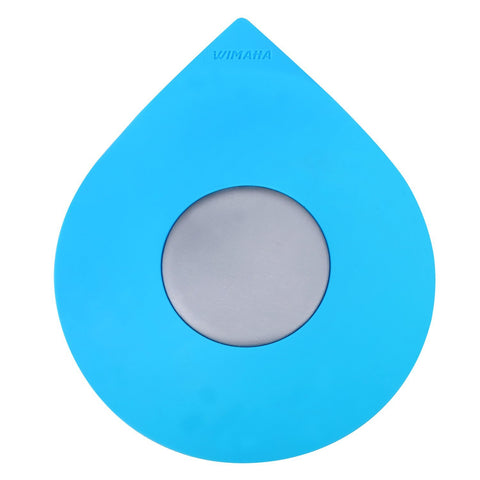 Wimaha Blue Waterdrop Bathtub Drain Stopper