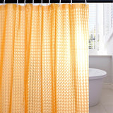 "Wimaha EVA Shower Curtain Waterproof Peepholes Design (72*72"")"