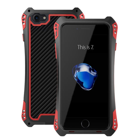 Wimaha Carbon Fiber iPhone 7 Shockproof Case Updated Version