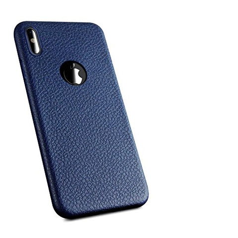 Wimaha Soft TPU Case for iPhone X Slim Fit Heavy Duty Protection,(Blue)