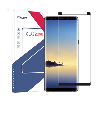 Wimaha Tempered Glass Screen Protector 3D for Samsung Galaxy Note 8