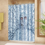 "Wimaha100% polyester shower curtain, invisible man (72 ""*72"")"