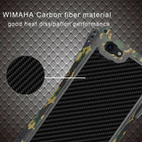 Wimaha Cooling Carbon Fiber Anti-Scratch Case for Apple iPhone 7