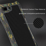 Wimaha Carbon Fiber iPhone 7 Plus Shockproof Case Updated Version