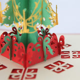 Wimaha 2 Pack Christmas Tree Pop Up Cards