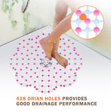 Wimaha Non Slip Bath and Shower Mat Mold Resistant for Bathroom