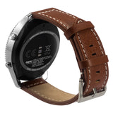Wimaha Genuine Leather Replacement Watch Band Brown Watch Strap