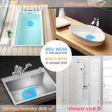 Wimaha 2Pack Bathtub Drain Stopper Silicone Recyclable Rubber