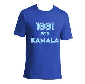 1881 for Kamala (T-Shirt)