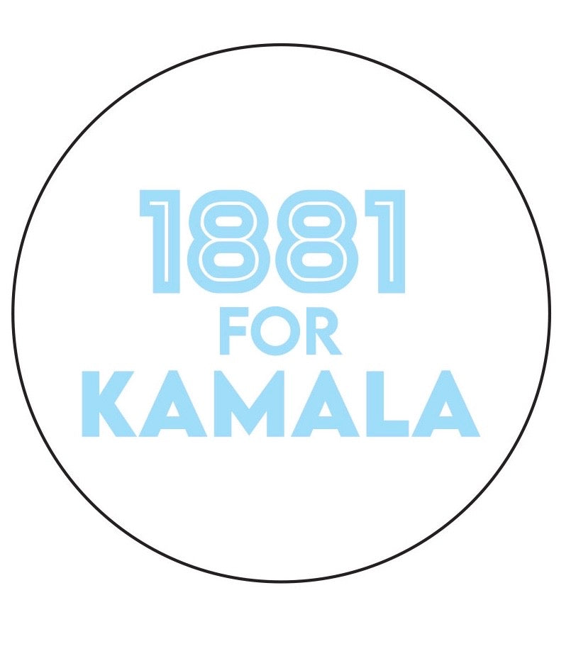 1881 for Kamala (Button)