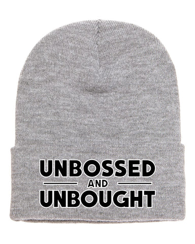 Limited Edition Unbossed & Unbought Beanie