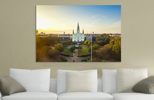 "New Orleans ""Baptized When the Levees Broke"" Canvas"