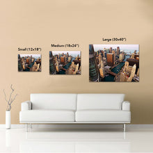 "Chicago ""Northside Southside"" Canvas"