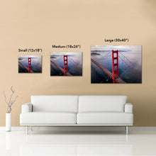 "San Francisco ""Gateway to the Western World"" Canvas"