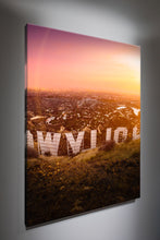 "Los Angeles ""Hollywood Sunset"" Canvas"