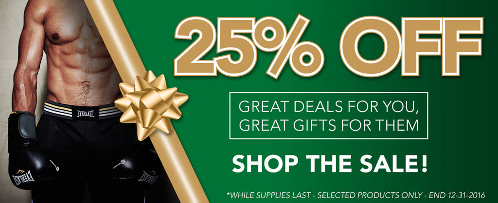 Take 25% off select items this holiday season!