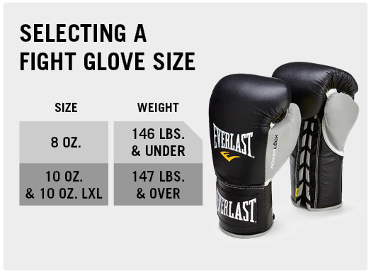 Selecting a Fight Glove Size