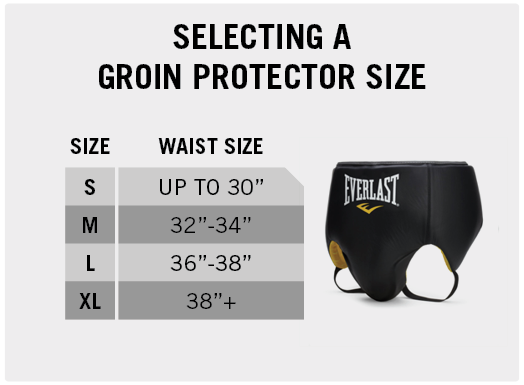 Selecting a Groin Protector Size