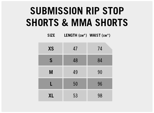 Submission Rip Stop Shorts & MMA Shorts