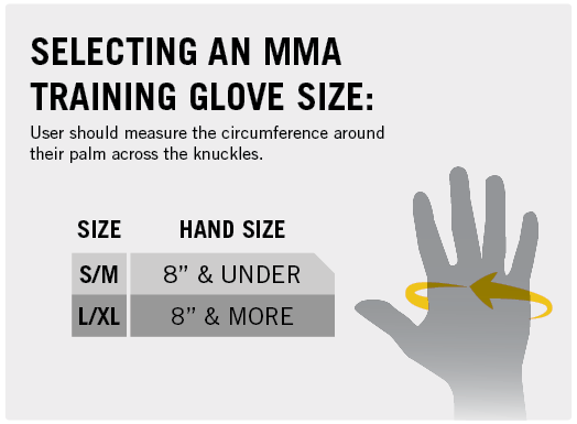 Selecting an MMA Training Glove Size