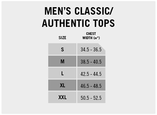 Men's Classic/Authentic Tops