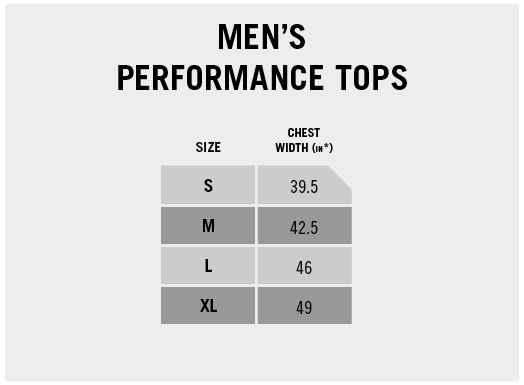 Men's Performance Tops