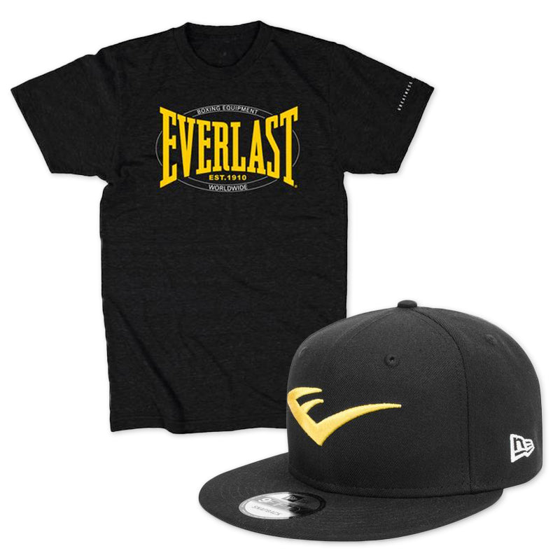 everlast hat and shirt bundle