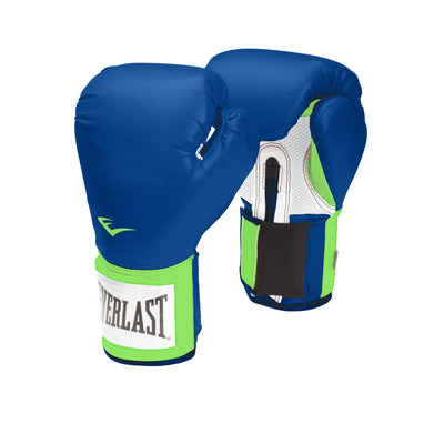 Everlast Pro Style Training Boxing Gloves Blue Green by Everlast Canada