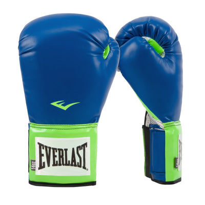 Everlast Pro Style Training Boxing Gloves Blue Green