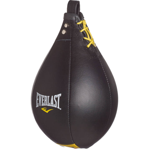 Everlast Leather Speed Bag- Black 9 x 6 by Everlast Canada
