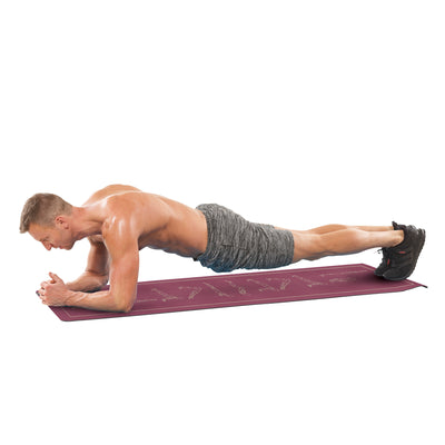 Everlast 5MM PVC Mat with Yoga Poses by Everlast Canada